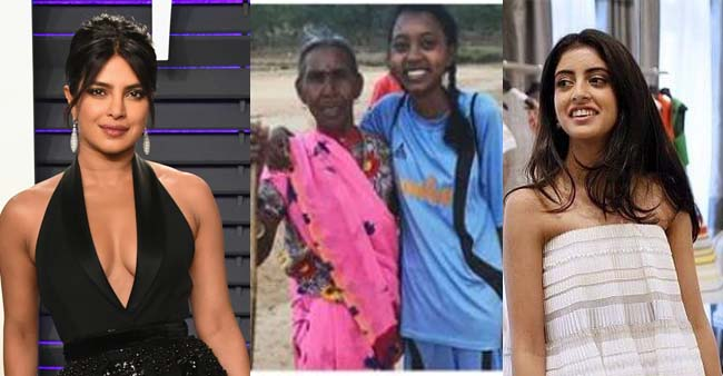 Jharkhand girl got Harvard University scholarship, Priyanka Chopra and Navya Naveli Nanda praise her