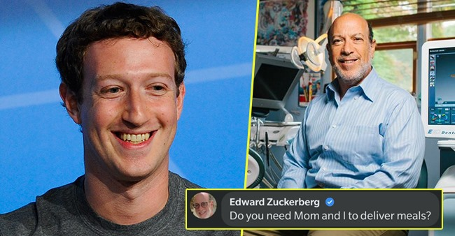 Mark Zuckerberg's Dad Replies On His Recent Facebook Post; Netizens Find The Conversation Relatable