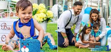 Dimpy Ganguly Shares A Glimpse From Her Son Aryaan's First Birthday Party; His Toothy Smile Wins Hearts
