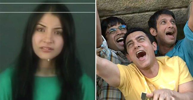 Anushka Sharma's Audition For Aamir Khan's 3 Idiots Turns Viral