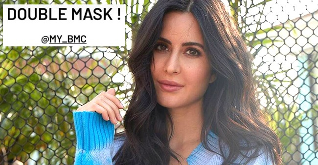 Katrina Kaif Shares Awareness About 'Double Mask' Amid Pandemic Second Wave