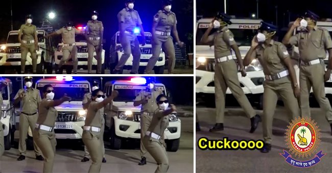 Kerala Police's Dance Video To Spread Awareness About Pandemic Turns Viral