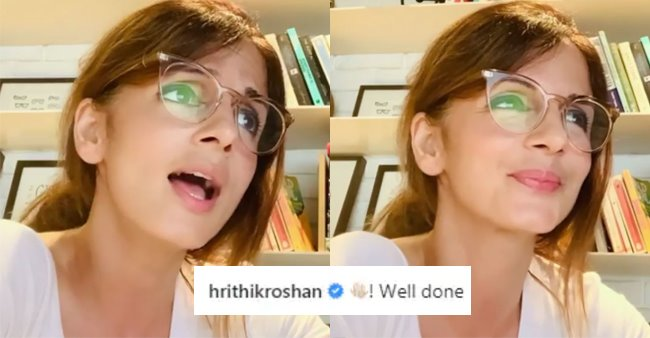 Hrithik Roshan Comments On Ex-Wife Sussanne Khan's Version Of Wonderwall