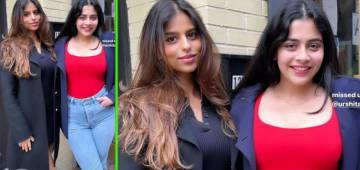 SRK's Daughter Suhana Enjoyed A Day Out With A Friend In NY; See Pics