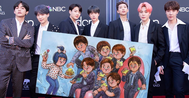 BTS featured in Amul Ad as their English single 'Butter' is to release next month