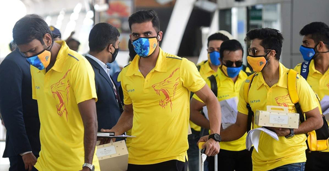 CSK contingent members tested positive for COVID-19; none of them players
