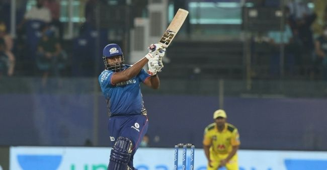 Kieron Pollard leads MI to their highest ever chase, hits 8 sixes in 87 of 34 balls