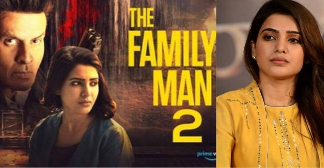 Actress Samantha Akkineni works with Cock Order of Amazon Prime Video amidst the Family Man 2 controversy