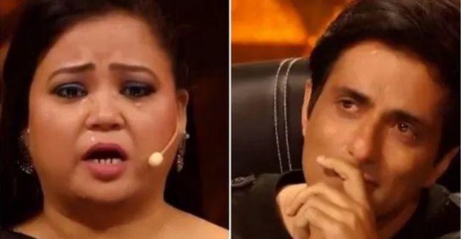 Sonu Sood, Nora Fatehi broke down on Dance Deewane episode, as Bharti Singh spoke about COVID-19 second wave