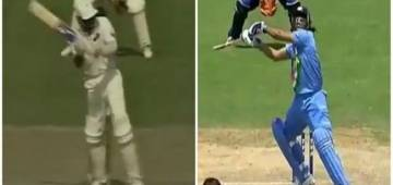 The first helicopter shot was played by Mohammad Azharuddin? Watch the video