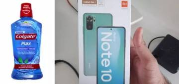 Amazon delivers Redmi Note 10 to man who ordered mouthwash