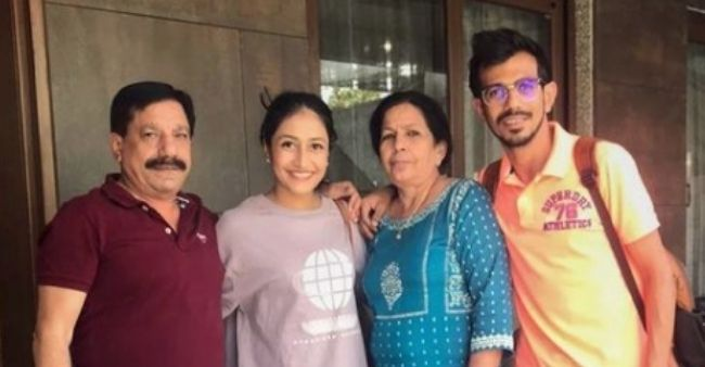 Yuzvendra Chahal pens an emotional post for his parents who have tested positive for COVID-19