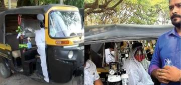 'Jugaad Ambulance'- an innovative initiative by Pune auto-drivers to aid Covid patients