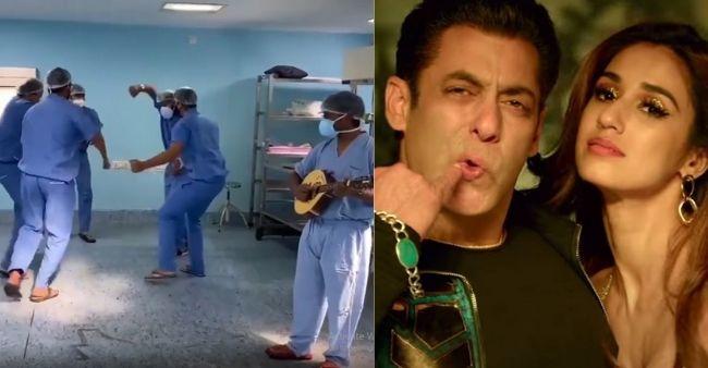 Doctors dance to 'Seeti Maar' from Radhe, Disha Patani lauds their efforts
