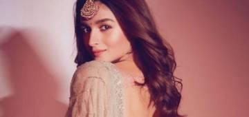 Alia Bhatt looks mesmerizing in a blue dress for the Dabboo Ratnani calendar shoot