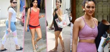 Even the Mumbai downpour couldn't stop these celebs from hitting the gym for their workout sessions