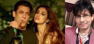 KRK is back with another jibe at Salman Khan and Disha Patani