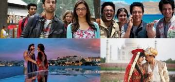 7 Bollywood movies which gave us travel goals