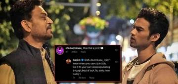 Irrfan Holding A Joint In One Of The Throwback Photos? Son Babil Khan Shuts Up A Fan Asking This Question