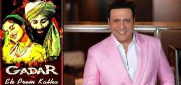 Govinda was the first choice for the iconic movie 'Gadar' which turns 20 this year