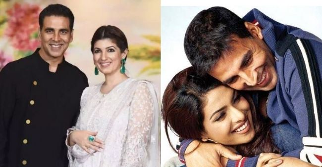 Did you know Twinkle Khanna once created a scene on Akshay's movie set because of rumors of him and Priyanka Chopra