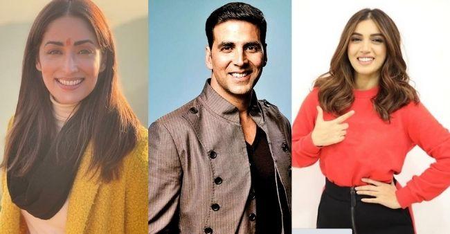 Yami Gautam and Bhumi Pednekar to play female leads in Akshay Kumar's two upcoming hits