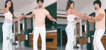 Tiger Shroff wishes Disha Patani a happy birthday on Instagram, sharing a dancing video with her; Calls her villian