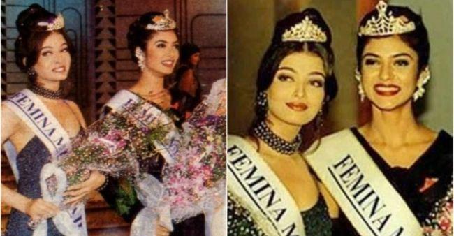 Sushmita Sen's conversation with Karan Johar on competing for Miss India against Aishwarya Rai Bachchan in 1994