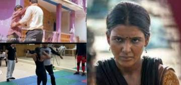 Samantha Akkineni shares BTS videos showing her perform stunts of The Family Man 2