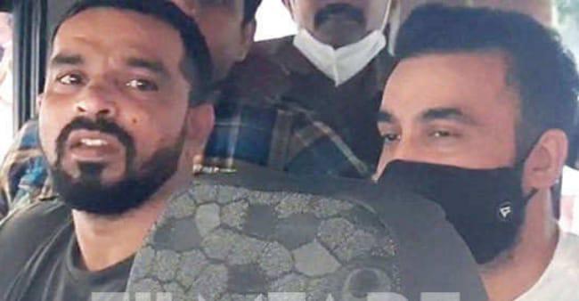 Raj Kundra and Ryan Tharp brought to Esplanade court in pornography case