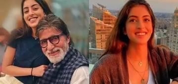 Amitabh Bachchan express his 'so proud' movement for granddaughter Navya Naveli Nanda