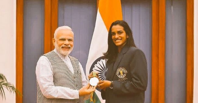 PM Modi replies to PV Sindhu's not eating ice-cream before the Tokyo Olympics goes viral