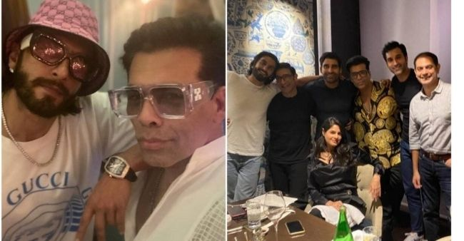 Inside Karan Johar and Ranveer Singh's fun night in Delhi, take a look at some photos