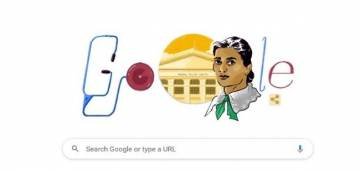 Google honors India's first female doctor Kadambini Ganguly with a Google Doodle