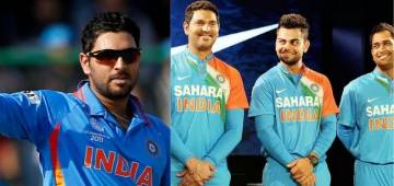 Yuvraj Singh disappoints fans on skipping Dhoni and Kohli from the friendship day video, 'Kohli and Dhoni carried you even during your worst from' says fans