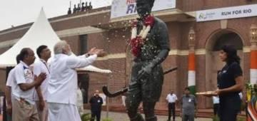 PM Modi announces Rajiv Gandhi Khel Ratna Award renamed as Major Dhyan Chand Khel Ratna Award