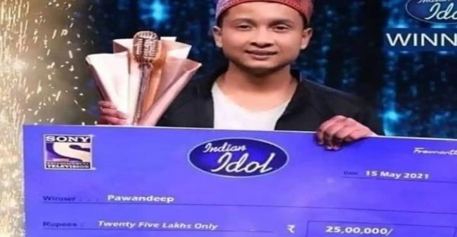 Indian Idol 12 Grand Finale: Did Pawandeep Rajan's picture with the winning trophy got leak?