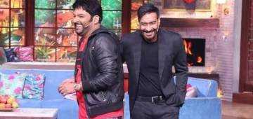 Ajay Devgn's sarcastic question about Kapil Sharma's child gets a befitting reply from the comedian