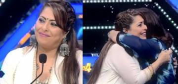 Farah Khan comforts Geeta Maa as she gets emotional from the tribute provided by the kids on Super Dancer 4