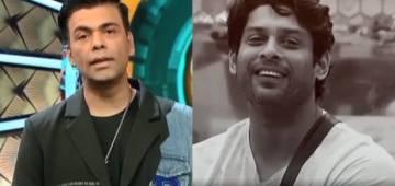 Karan Johar gets teary as he pays tribute to Sidharth Shukla on Bigg Boss OTT